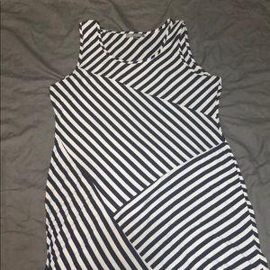 Tank Top Stripped Maxi Dress